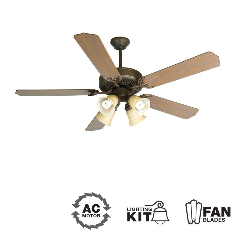 "Craftmade K10633 CD Unipack 204 52"" 5 Blade Indoor Ceiling Fan -"
