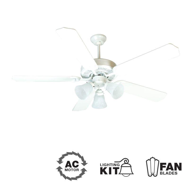"Craftmade K10638 CD Unipack 205 52"" 5 Blade Indoor Ceiling Fan -"