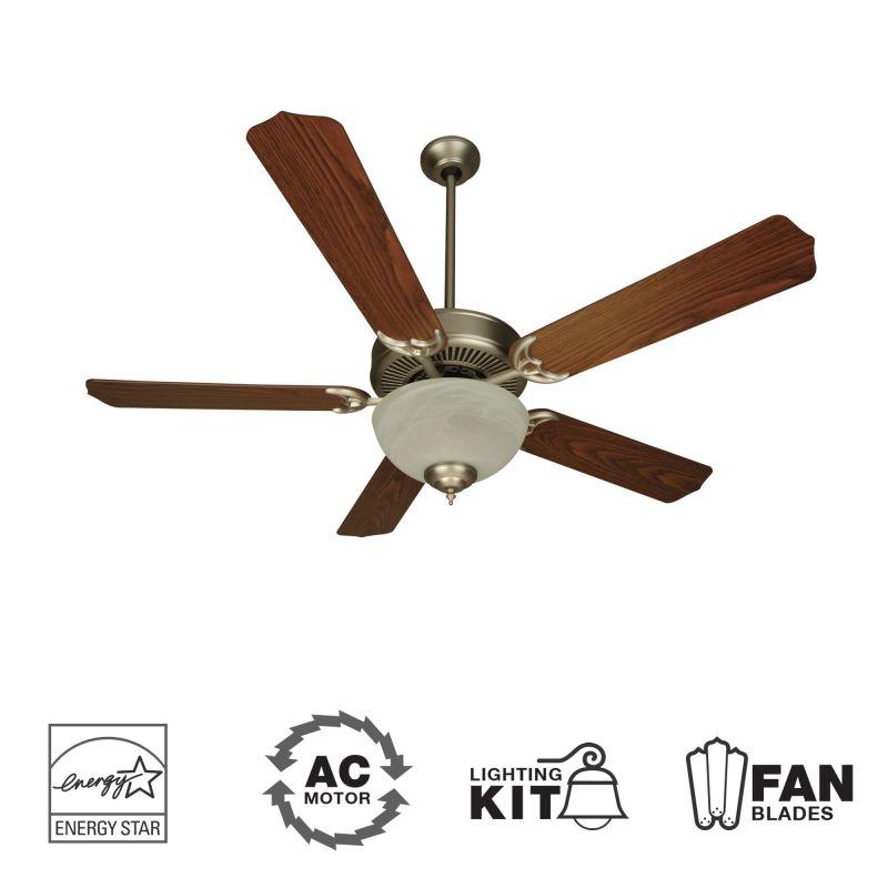 "Craftmade K10643 CD Unipack 207 52"" 5 Blade Energy Star Indoor Ceiling"
