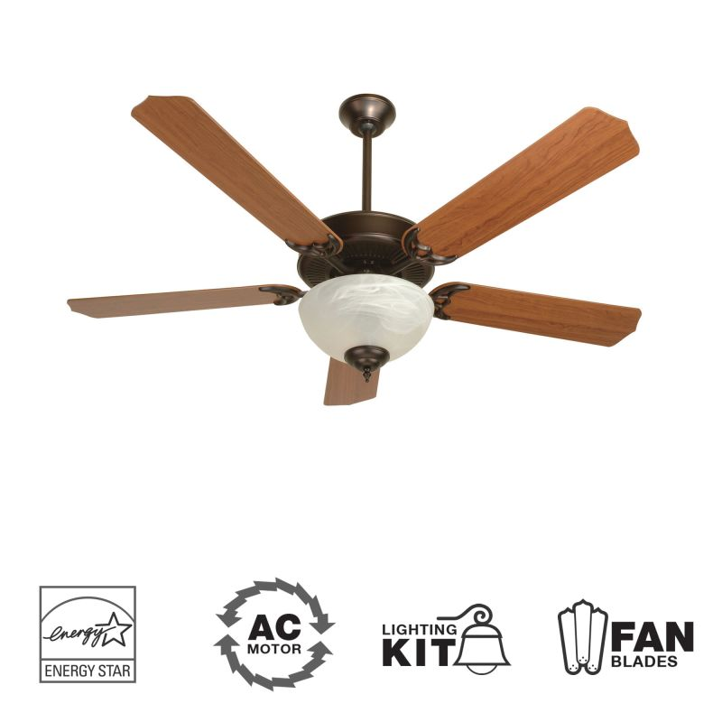 "Craftmade K10645 CD Unipack 207 52"" 5 Blade Energy Star Indoor Ceiling Sale $133.50 ITEM: bci1943644 ID#:K10645 :"