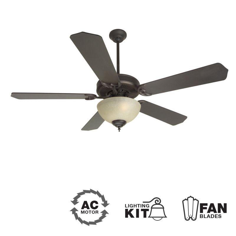 "Craftmade K10648 CD Unipack 208 52"" 5 Blade Energy Star Indoor Ceiling"