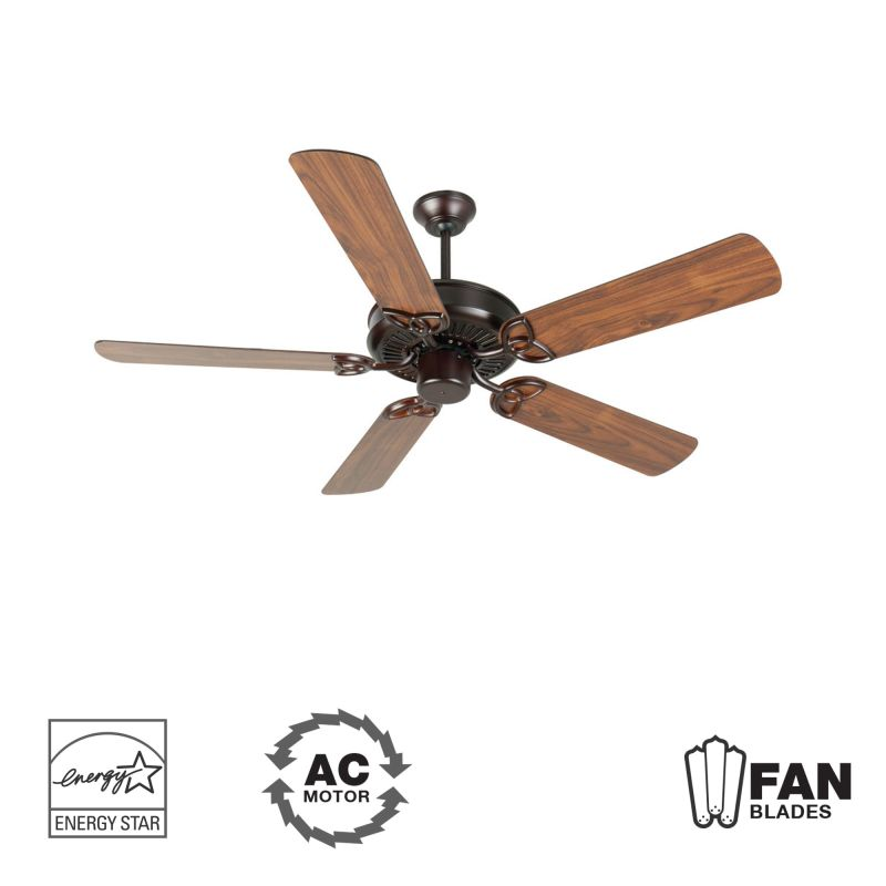 "Craftmade K10678 CXL 52"" 5 Blade Energy Star Indoor Ceiling Fan -"