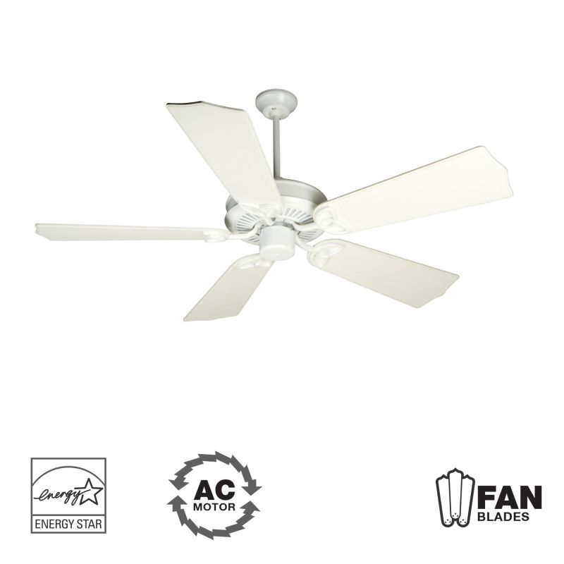 "Craftmade K10680 CXL 56"" 5 Blade Energy Star Indoor Ceiling Fan -"