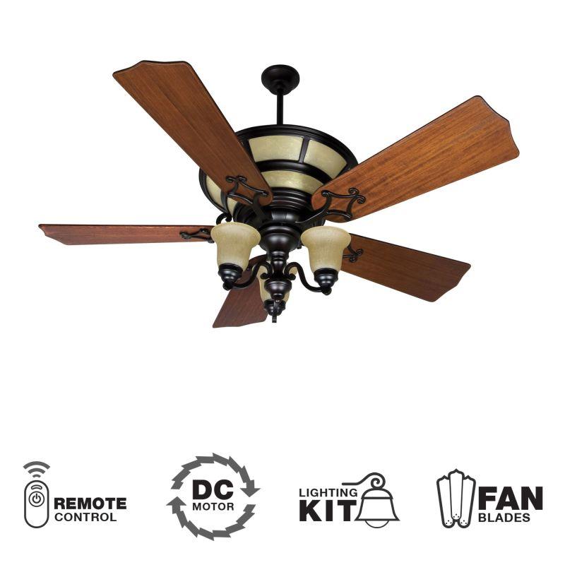 "Craftmade K10705 Hathaway 56"" 5 Blade DC Indoor Ceiling Fan - Blades"