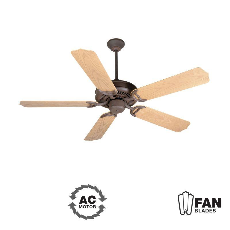 "Craftmade K10737 Porch Fan 52"" 5 Blade Indoor Ceiling Fan - Blades"