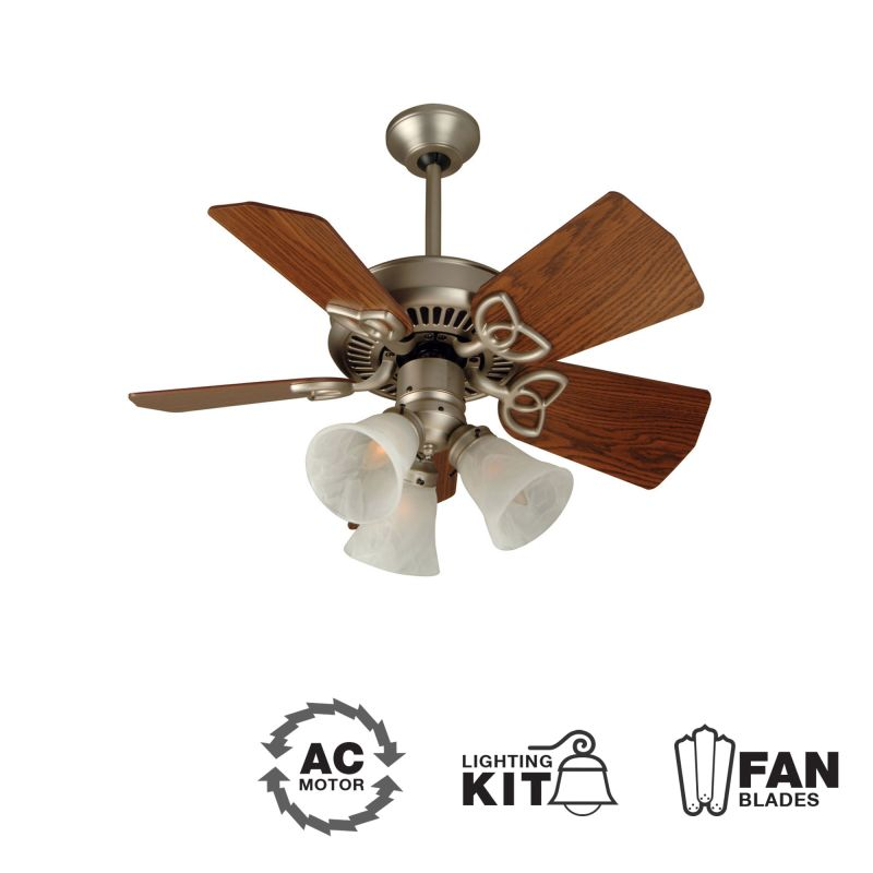 "Craftmade K10740 Piccolo 30"" 5 Blade Indoor Ceiling Fan - Blades and"