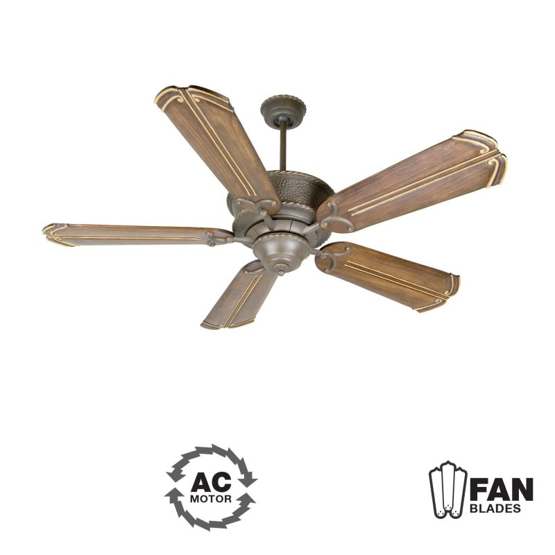 "Craftmade K10750 Riata 56"" 5 Blade Indoor Ceiling Fan - Blades"