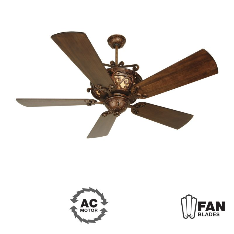 "Craftmade K10765 Toscana 54"" 5 Blade Indoor Ceiling Fan - Blades"