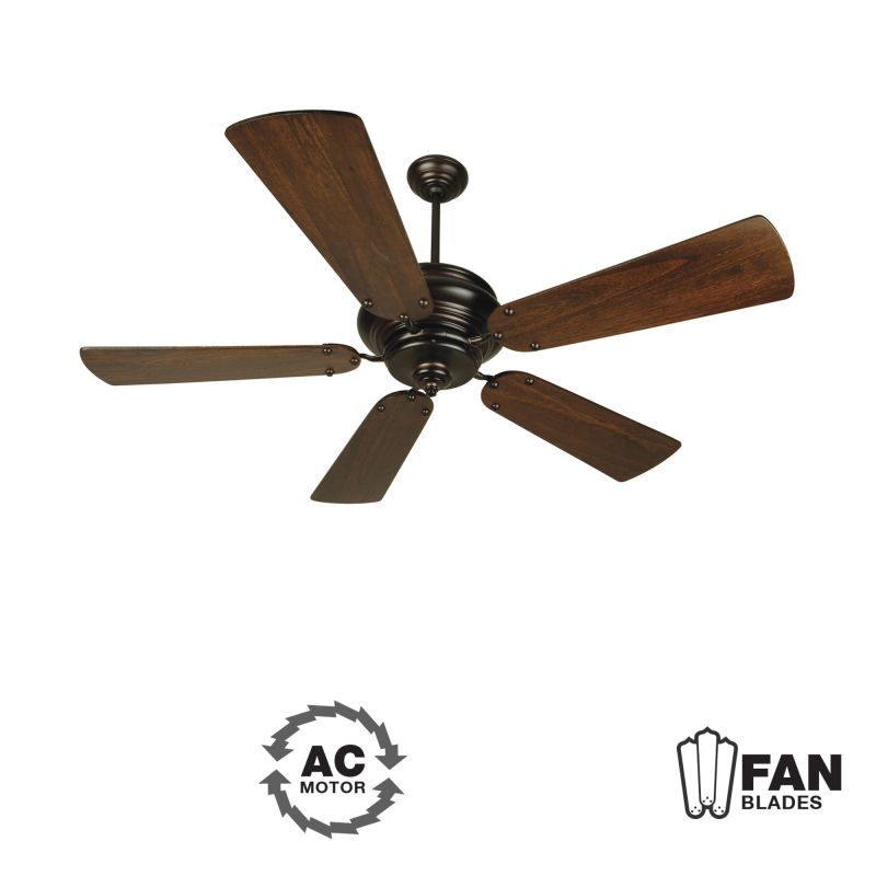 "Craftmade K10772 Townsend 54"" 5 Blade Indoor Ceiling Fan - Blades"