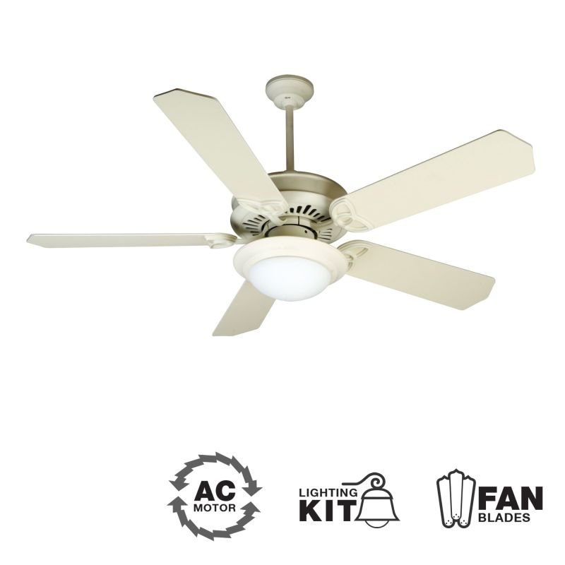 "Craftmade K10787 American Tradition 52"" 5 Blade Energy Star Indoor"