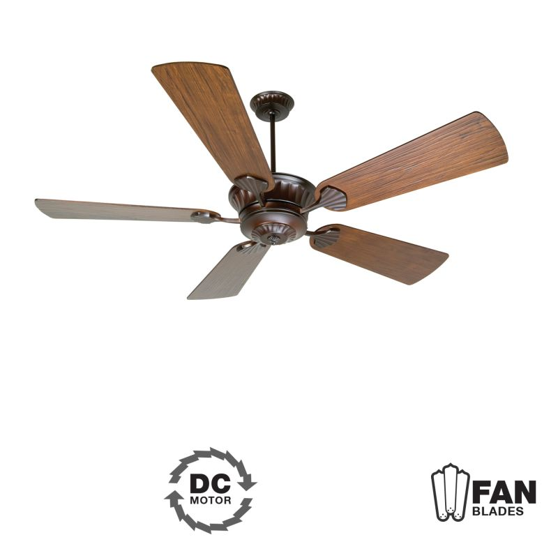 "Craftmade K10795 DC Epic 70"" 5 Blade DC Indoor Ceiling Fan - Blades"