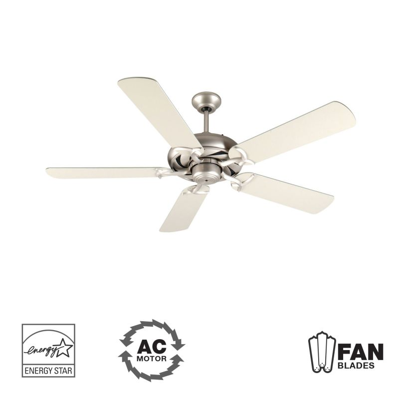 "Craftmade K10851 Civic 52"" 5 Blade Energy Star Indoor Ceiling Fan -"