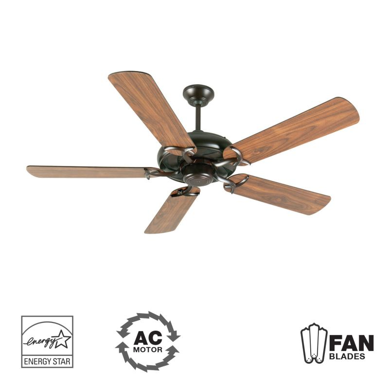 "Craftmade K10854 Civic 52"" 5 Blade Energy Star Indoor Ceiling Fan -"