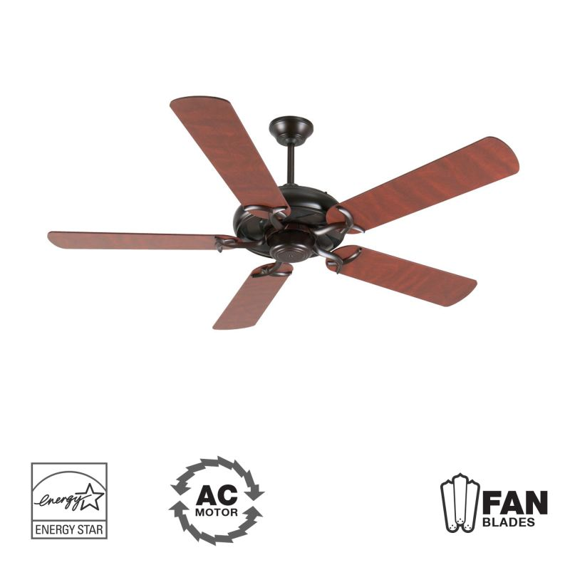 "Craftmade K10855 Civic 52"" 5 Blade Energy Star Indoor Ceiling Fan -"