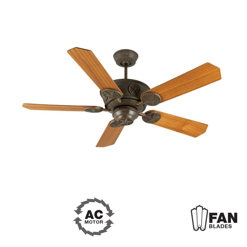 "Craftmade K10870 Chaparral 52"" 5 Blade Indoor Ceiling Fan - Blades"