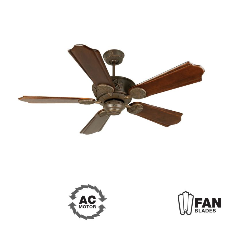 "Craftmade K10872 Chaparral 56"" 5 Blade Indoor Ceiling Fan - Blades"