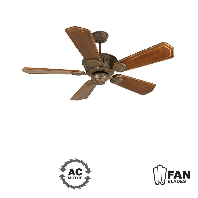 "Craftmade K10874 Chaparral 56"" 5 Blade Indoor Ceiling Fan - Blades"