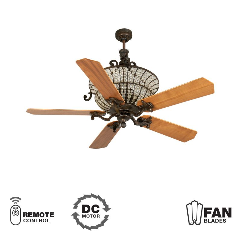 "Craftmade K10875 Cortana 52"" 5 Blade DC Indoor Ceiling Fan - Blades"