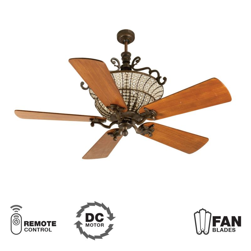 "Craftmade K10880 Cortana 54"" 5 Blade DC Indoor Ceiling Fan - Blades"