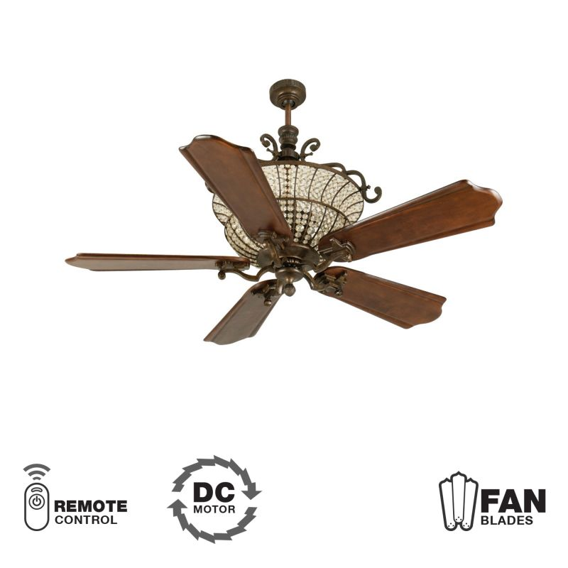 "Craftmade K10881 Cortana 56"" 5 Blade DC Indoor Ceiling Fan - Blades"
