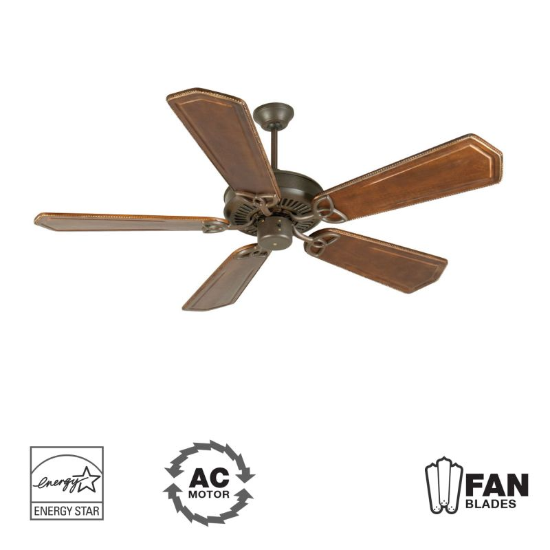 "Craftmade K10935 CXL 56"" 5 Blade Energy Star Indoor Ceiling Fan -"