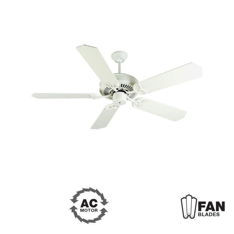 "Craftmade K10936 CXL 52"" 5 Blade Energy Star Indoor Ceiling Fan -"