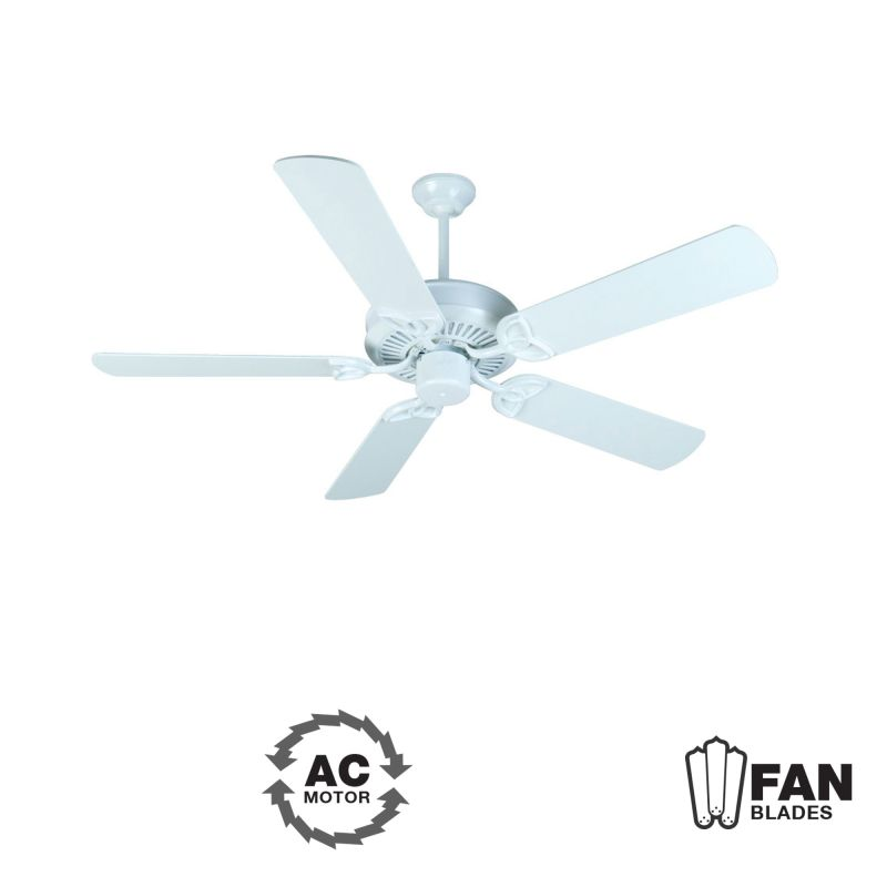 "Craftmade K10989 CXL 52"" 5 Blade Energy Star Indoor Ceiling Fan -"