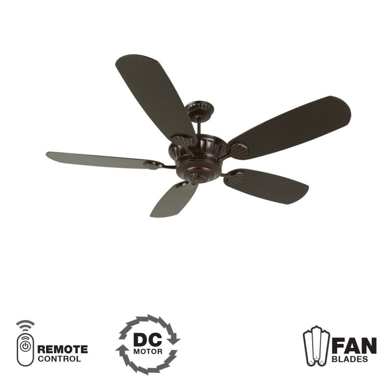 "Craftmade K10994 DC Epic 70"" 5 Blade DC Indoor Ceiling Fan - Blades"