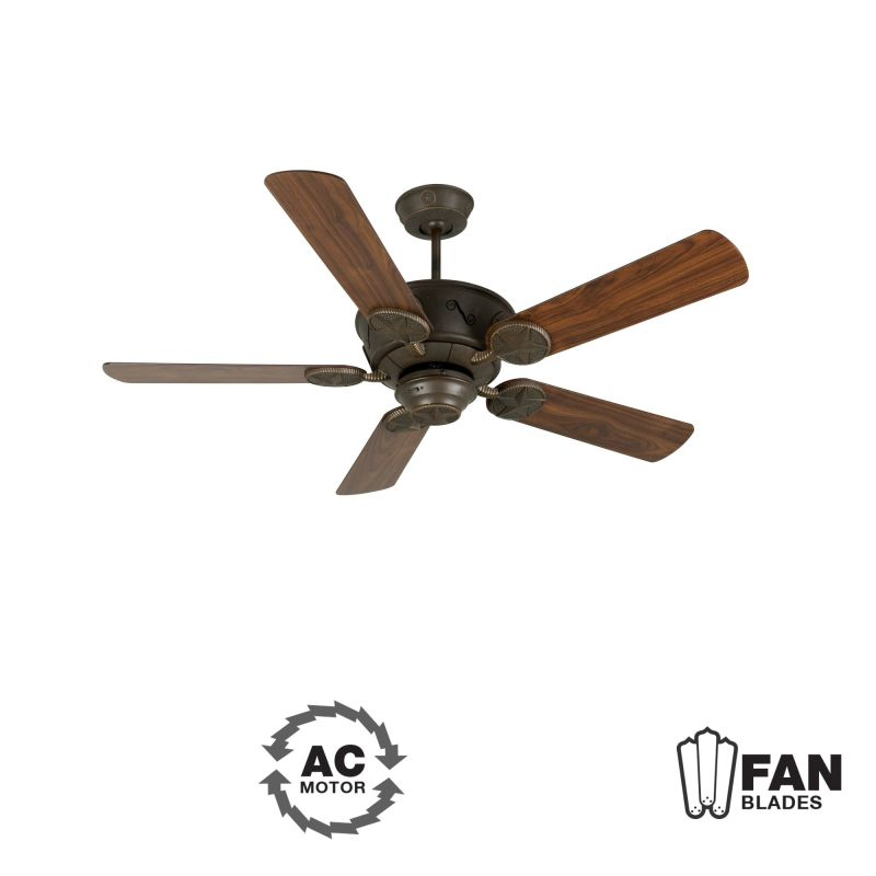 "Craftmade K11010 Chaparral 52"" 5 Blade Indoor Ceiling Fan - Blades"