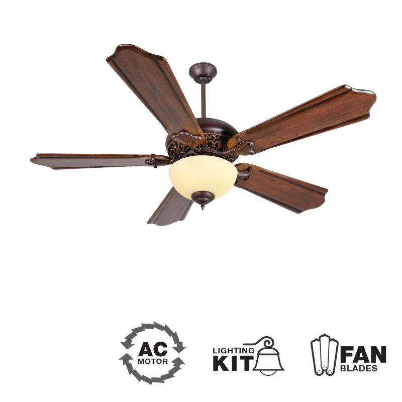 """Craftmade K11011 Mia 56"""" 5 Blade Indoor Ceiling Fan - Blades and Light Sale $334.00 ITEM: bci1943885 ID#:K11011 :"""