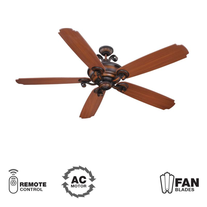 Craftmade K11024 Seville Espana 68&quote 5 Blade Indoor Ceiling Fan -