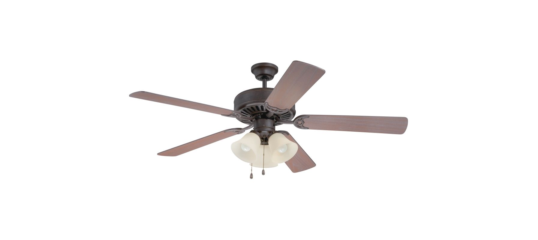 "Craftmade K11117 Pro Builder 206 52"" 5 Blade Indoor Ceiling Fan with"