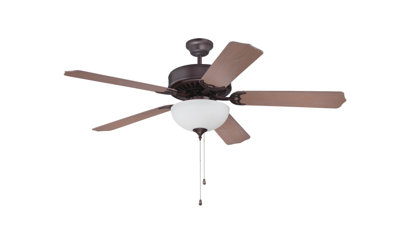 "Craftmade K11122 Pro Builder 207 52"" 5 Blade Indoor Ceiling Fan with"