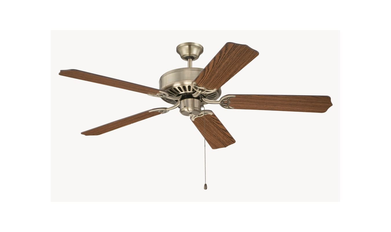 "Craftmade K11131 Pro Builder 52"" 5 Blade Indoor Ceiling Fan with Sale $84.50 ITEM: bci2972603 ID#:K11131 UPC: 647881143633 :"