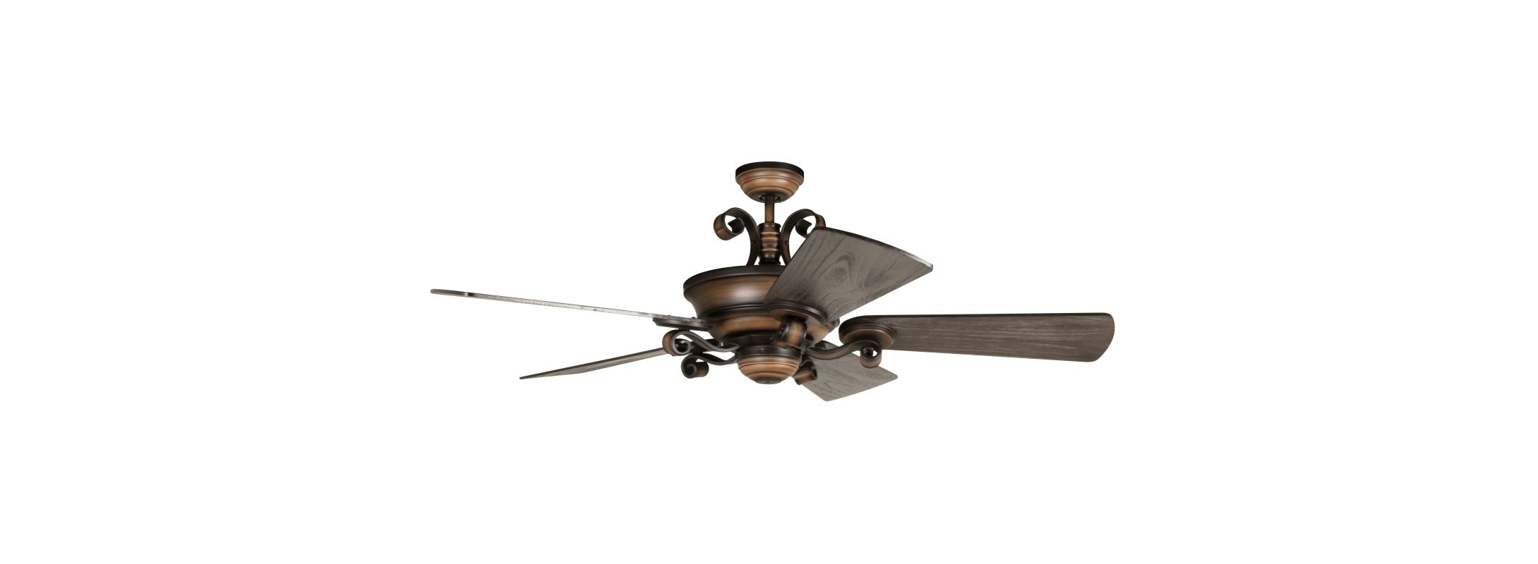 "Craftmade K11255 Seville Espana 54"" 5 Blade Indoor Ceiling Fan with"