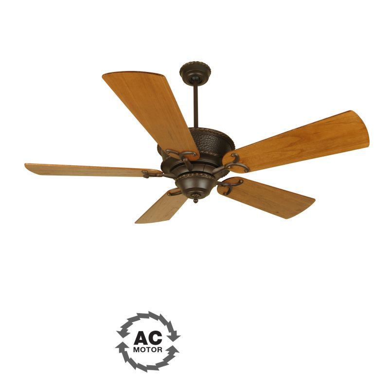 "Craftmade Riata 44"" 5 Blade Indoor Ceiling Fan Aged Bronze Fans Indoor"