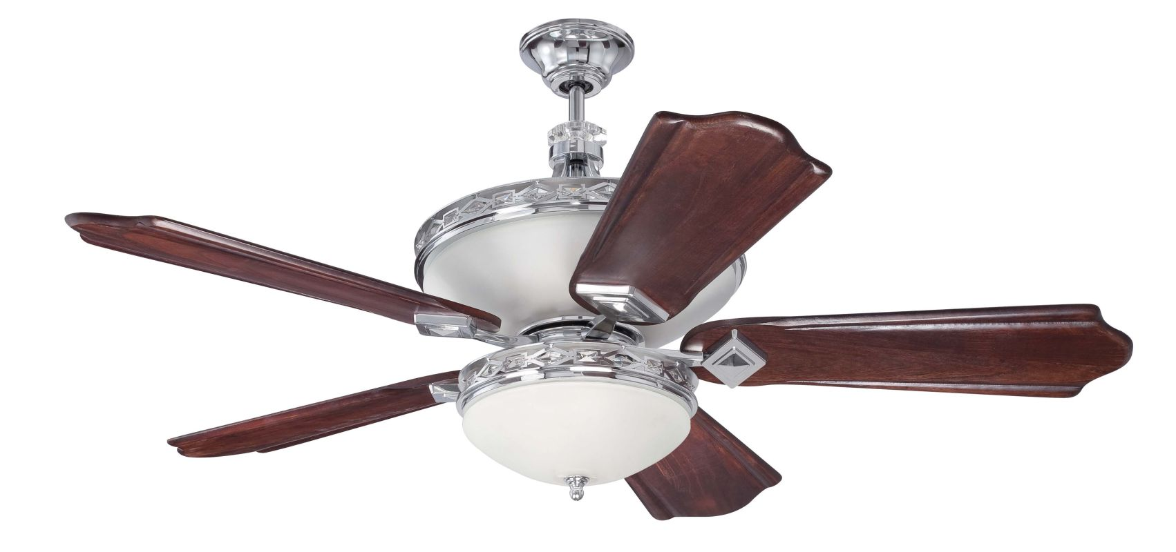 Craftmade SAR52 Saratoga 52&quote 5 Blade Indoor Ceiling Fan - Light Kit