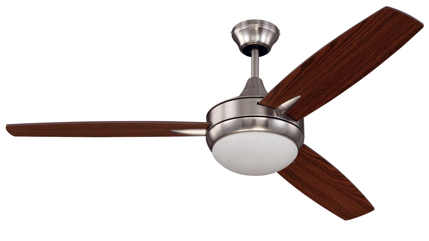 "Craftmade TG523 Targas 52"" 3 Blade AC Motor Indoor Ceiling Fans with"
