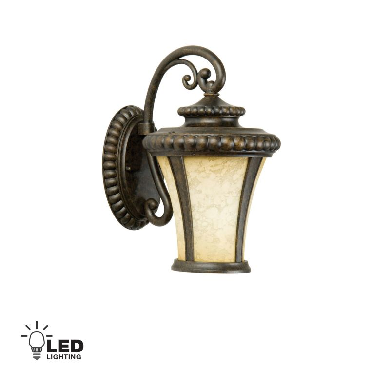 Craftmade Z1204-LED Prescott 1 Light LED Outdoor Wall Sconce - 8