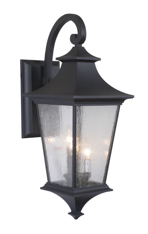 Craftmade Z1374 Argent II 3 Light Outdoor Wall Sconce - 10 Inches Wide