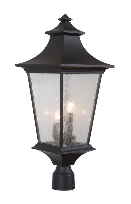 Craftmade Z1375 3 Light Ambient Light Outdoor Post Light from the