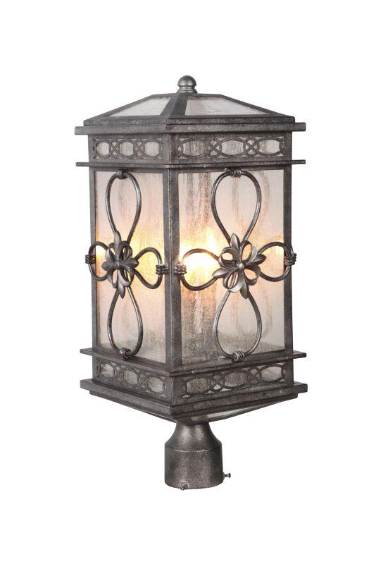 Craftmade Z2315 Edinburgh 3 Light Outdoor Post Light (Post Not Sale $229.00 ITEM: bci2664043 ID#:Z2315-18 UPC: 647881138813 :