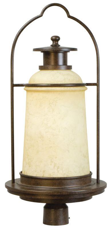 Craftmade Z4725-98 Portofino 1 Light Outdoor Post Mount Light Aged Sale $105.00 ITEM: bci2185558 ID#:Z4725-98 UPC: 647881105020 :