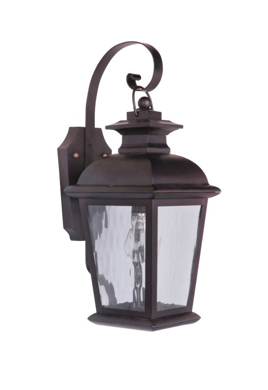 "Craftmade Z5704-92 Branbury 1 Light 7"" Wide Outdoor Wall Sconce Oiled"