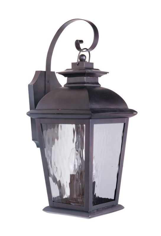 "Craftmade Z5714-92 Branbury 3 Light 9"" Wide Outdoor Wall Sconce Oiled"