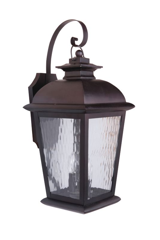 "Craftmade Z5724-92 Branbury 3 Light 11"" Wide Outdoor Wall Sconce Oiled"