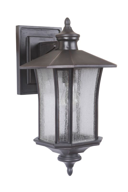 Craftmade Z7714 Chateau 1 Light Outdoor Wall Sconce - 9 Inches Wide Sale $159.00 ITEM: bci2664030 ID#:Z7714-88 UPC: 647881133900 :