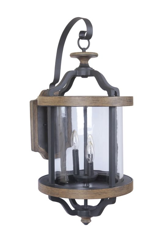 Craftmade Z7934 Ashwood 3 Light Outdoor Wall Sconce - 13.16 Inches Sale $429.00 ITEM: bci2664038 ID#:Z7934-14 UPC: 647881134167 :