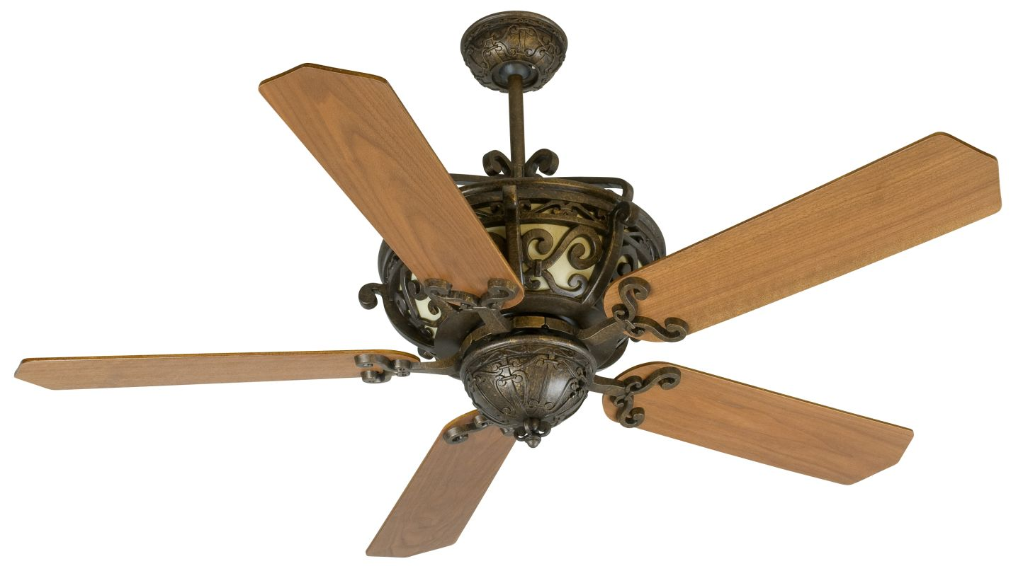 "Craftmade K10766 Toscana 52"" 5 Blade Indoor Ceiling Fan - Blades"