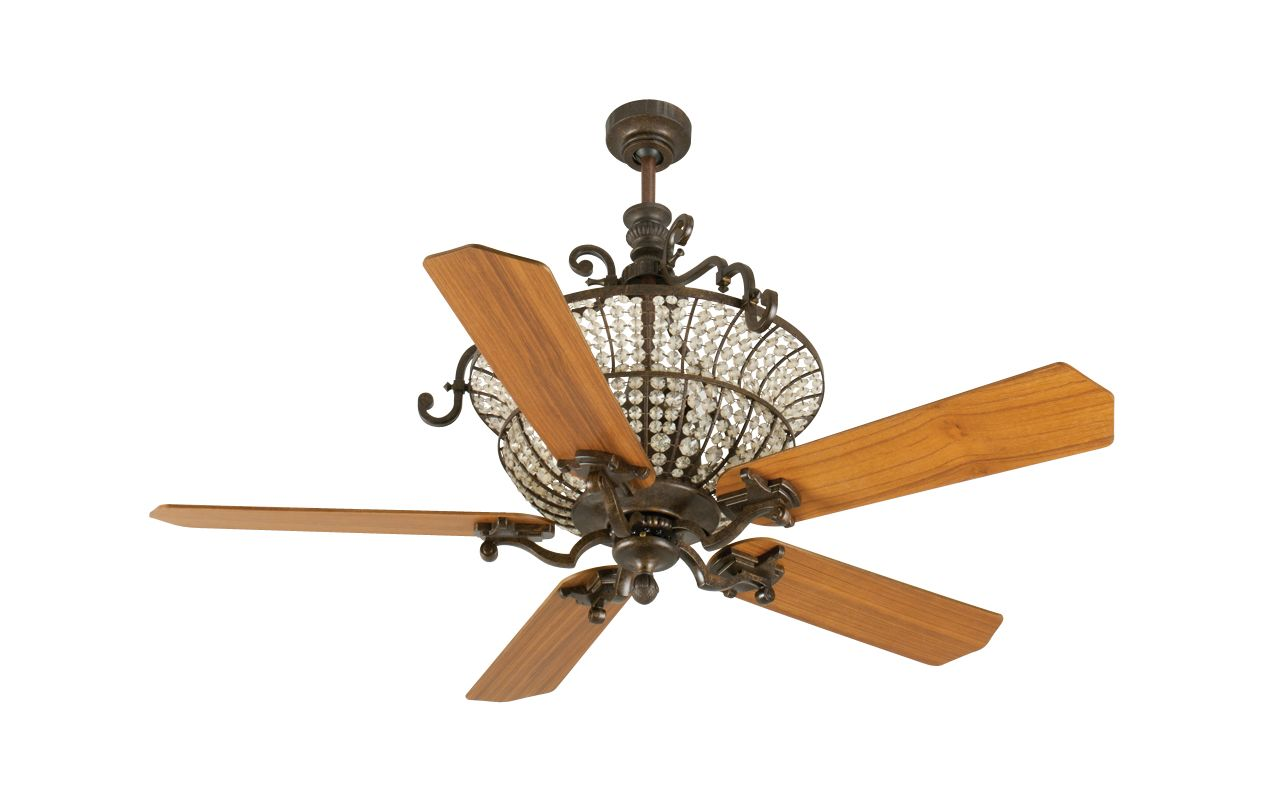 "Craftmade K10876 Cortana 52"" 5 Blade DC Indoor Ceiling Fan - Blades"
